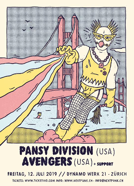 Pansy Division at Dynamo Zurich
